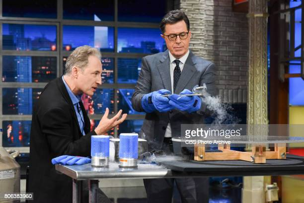 The Late Show with Stephen Colbert with guest Brian Greene during Wednesday's June 28 2017 show
