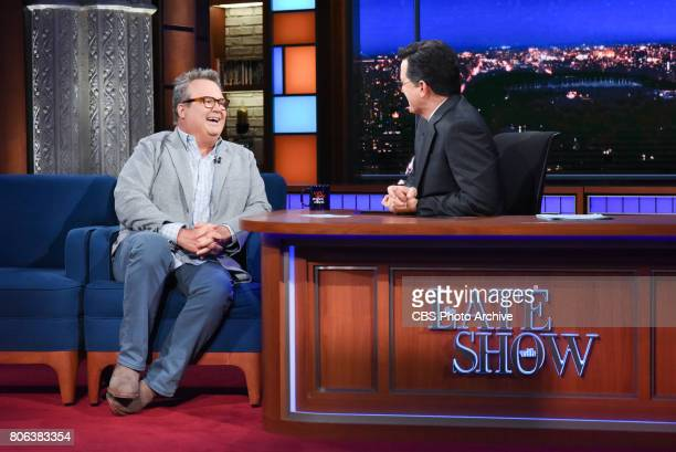 The Late Show with Stephen Colbert with guest Eric Stonestreet during Tuesday's June 27 2017 show