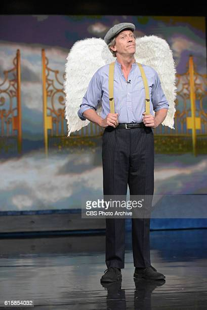 The Late Show with Stephen Colbert with guest Hugh Laurie during Wednesday 's 10/19/16 taping in New York