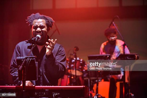 The Late Show With Stephen Colbert With musical guests Sampha during Thursday's 9/1/16 taping in New York