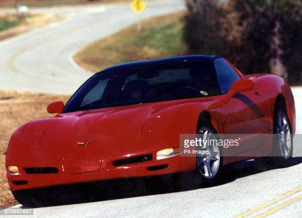 The latest version of the muchloved Chevrolet Corvette was unveiled today ahead of its spring arrival in the UK The sleek new model the first allnew...