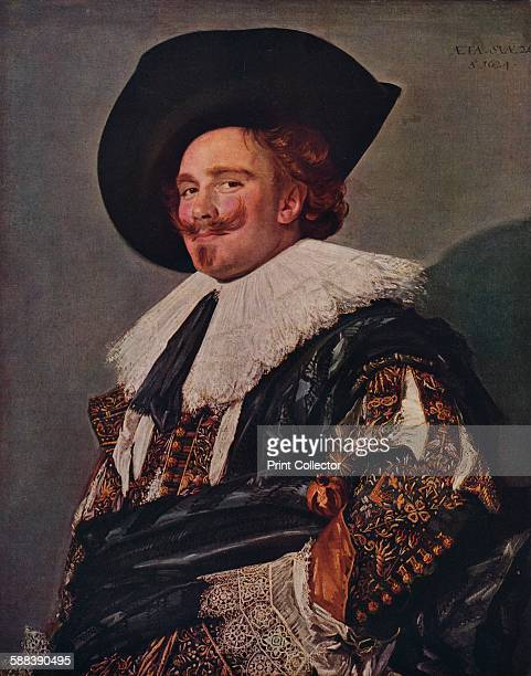 The Laughing Cavalier' 1624 Painting held at the Wallace Collection London From World Famous Paintings edited by J Grieg Pirie