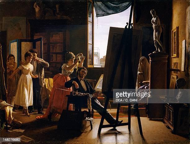The laurel by Napoleone Nani oil on canvas 38x50 cm