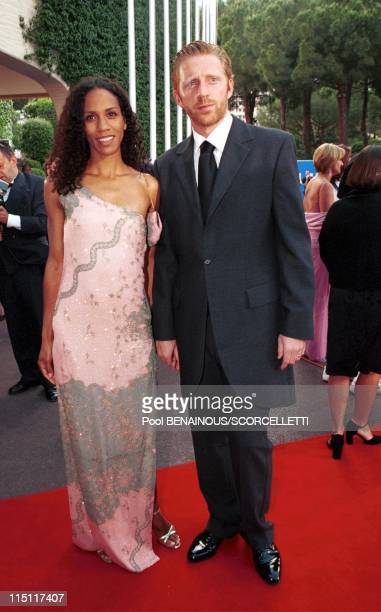 The Laureus sports awards in Monaco City Monaco on May 25 2000 Boris and Barbara Becker