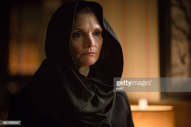 GRIMM 'The Law of Sacrifice' Episode 318 Pictured Mary Elizabeth Mastrantonio as Kelly Burkhardt