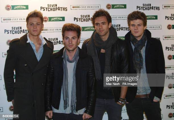 The Lawsons arriving at the Gala Premiere of Seven Psychopaths hosted by the Jameson Cult Film Club at Oval Space in Bethnal Green London PRESS...