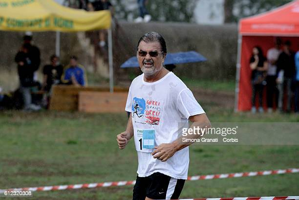 The lawyer Fabio Anselmo participates in the Marathon at the park of the Aqueducts in memory of Stefano Cucchi the young man who died Oct 22 2009 in...