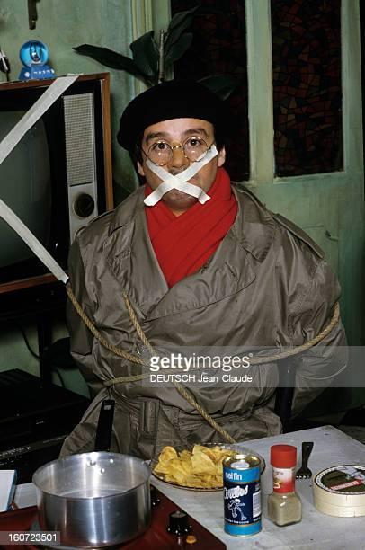 The Le Luron Case janvier 1985 Thierry le LURON accuse TF1 d'avoir censuré un de ses sketches lors de la soirée de variétés 'Horoscope 85' posant en...