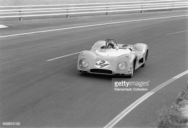 The Le Mans 24 Hours Le Mans June 1415 1969 The Matra MS630/650 of Johnny ServozGavin/Herbert Müller in the Esses