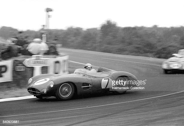 The Le Mans 24 Hours Le Mans June 2021 1959 The Graham Whitehead/Brian Naylor DBR1 at Mulsanne It left the road in the fourth hour