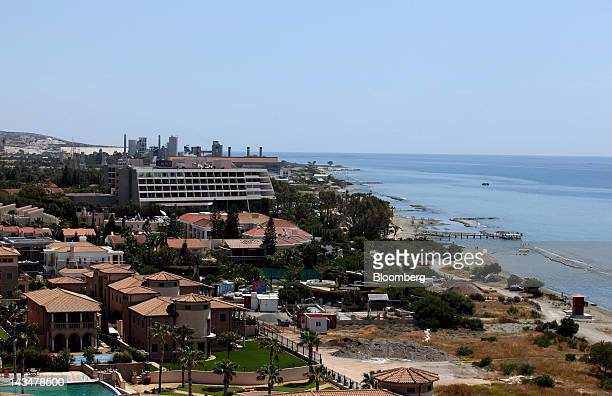 The Le Meridien hotel center owned by Starwood Hotels Resorts Worldwide Inc is seen sitting alongside the beach in Limassol Cyprus on Wednesday April...