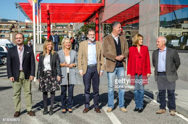 The leaders of the Popular Party pose for the group picture at the gates of the Barceló Hotel in Barcelona The Popular Party of Catalonia has counted...