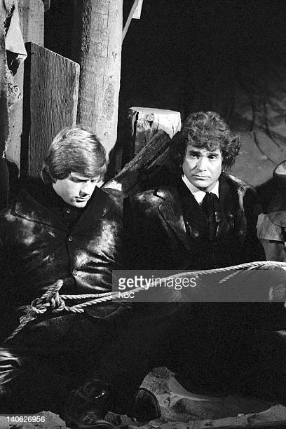PRAIRIE 'The Legend of Black Jake' Episode 7 Aired 11/16/81 Pictured Dean Butler as Almanzo James Wilder Michael Landon as Charles Philip Ingalls...
