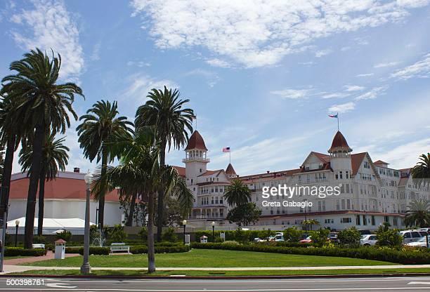 CONTENT] The legendary Hotel del Coronado is located on 28 oceanfront acres on Coronado Island