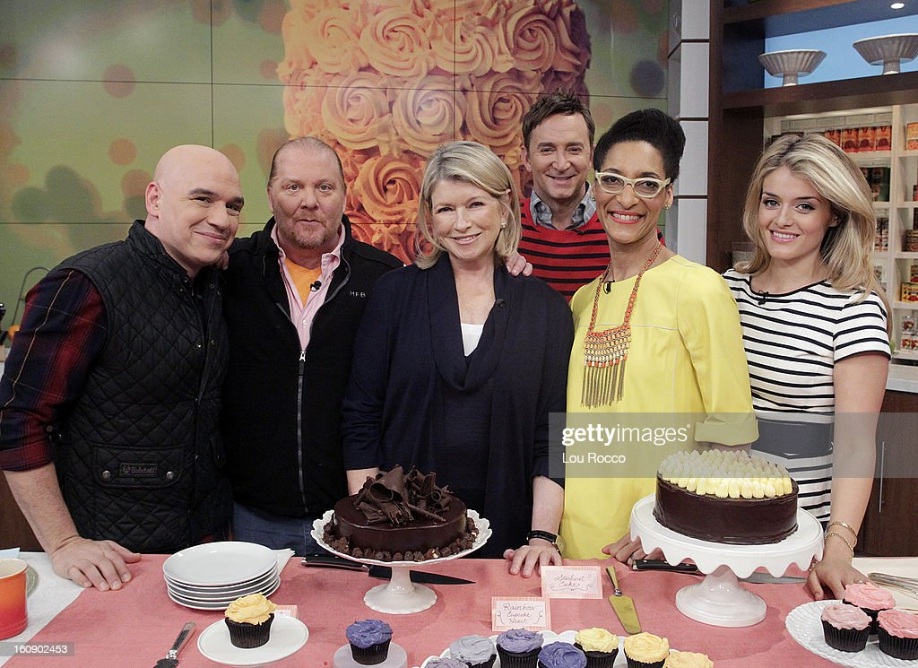 """THE CHEW - (2.5.13) The legendary Martha Stewart makes her first-ever """"Chew"""" appearance, talking about her new book, Meatless, and joins co-host Carla Hall to whip up the ultimate dessert in the Dish of the Day; co-host Michael Symon prepares a comfort food to delight every palate. 'The Chew' airs MONDAY - FRIDAY (1-2pm, ET) on the ABC Television Network. OZ"""