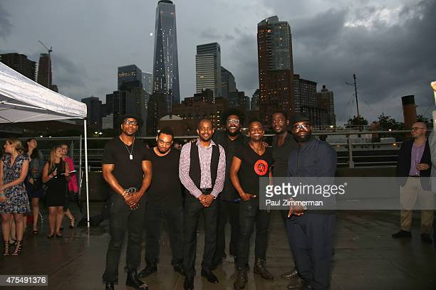 The Legendary Roots Crew attends the Infiniti presents The Supper to launch EAT DRINK SAVE LIVES on May 31 2015 in New York City Photo by Grant Lamos...