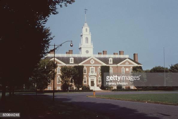 The Legislative Hall in Dover Delaware USA circa 1960