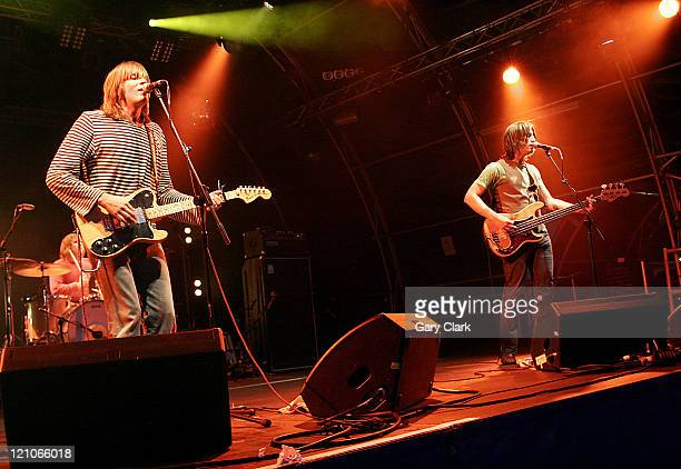 The Lemonheads during Somerset House Summer Series The Lemonheads July 16 2006 at Somerset House in London United Kingdom