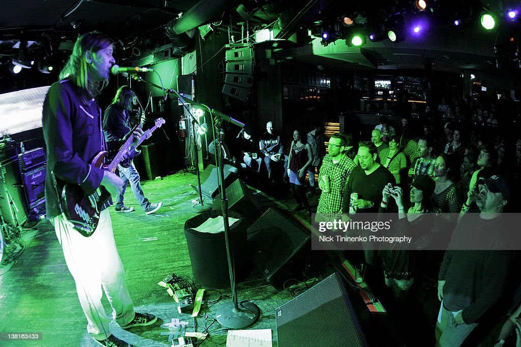 The Lemonheads perform on February 2, 2012 in Aspen, Colorado.