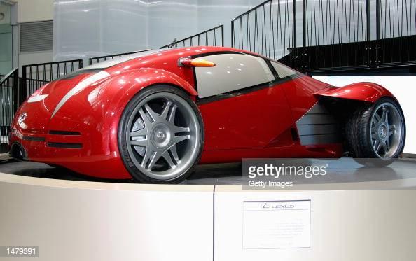 the lexus concept car at motorshow pictures getty images. Black Bedroom Furniture Sets. Home Design Ideas