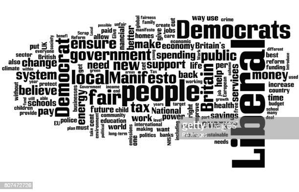 The Liberal Democrat Party manifesto as seen through the internet tool wordlenet The use of words in the three main manifestos offers an insight into...