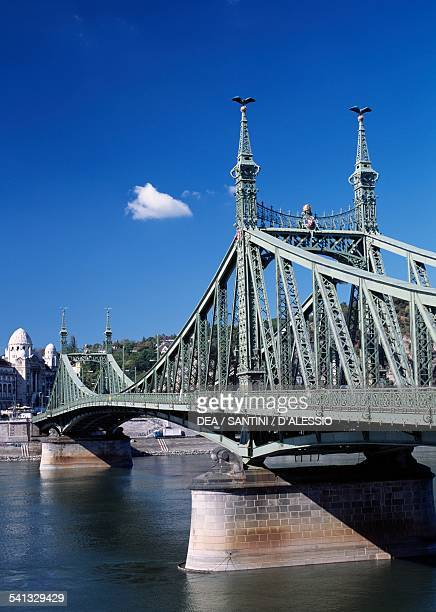 The Liberty bridge 18941896 Budapest Hungary 19th century