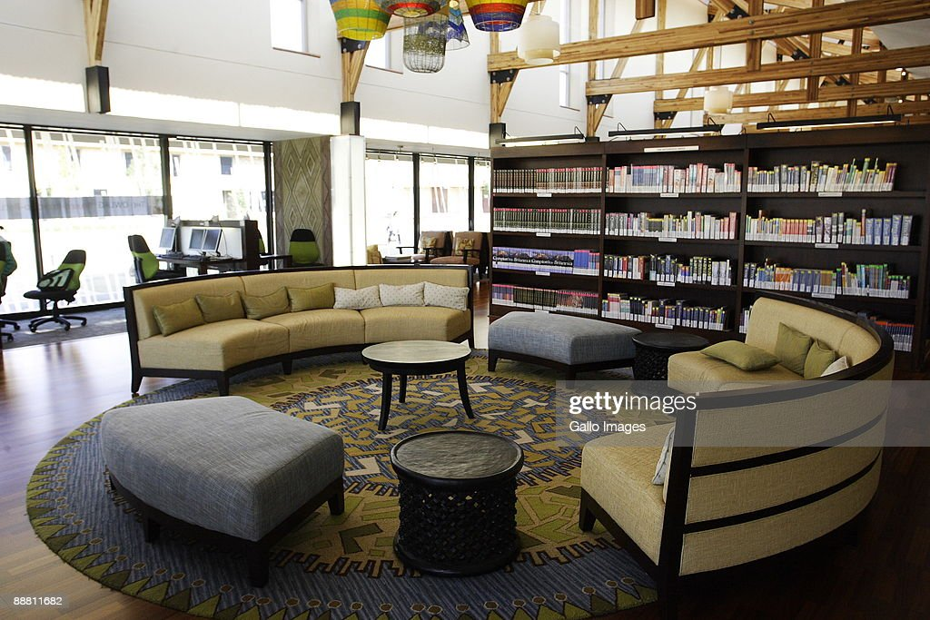 Inside Oprahs School In South Africa The Library Is Pictured At Oprah Winfrey Leadership Academy For Girls On June 16