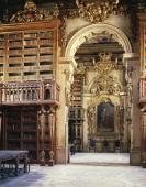 The library of the University of Coimbra built by King João V 1724 Portugal 18th century