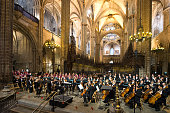 Requiem For Montserrat Caballe At Barcelona Cathedral