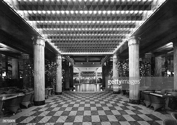 The Lido des ChampsElysees at Paris designed by Rene Berger