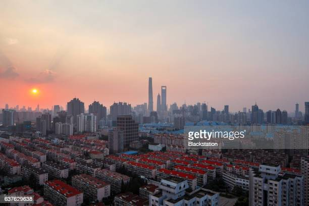 the life in Shanghai block