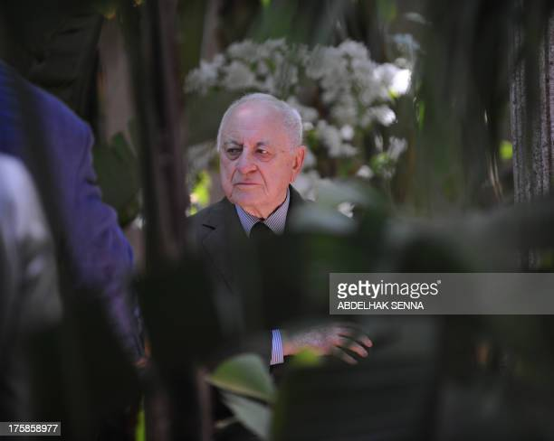 The lifelong professional and personal companion of iconic French fashion designer Yves Saint Laurent Pierre Berge is pictured on June 11 2008 in the...