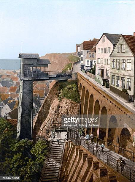 The Lift Helgoland Germany 1895