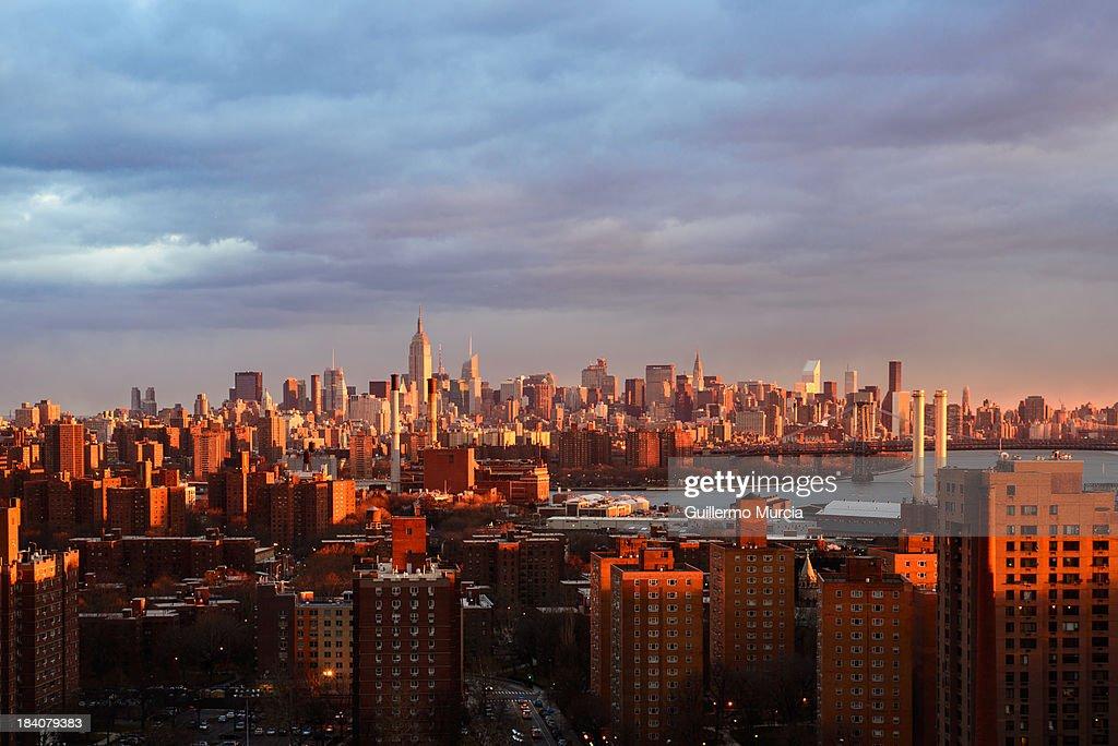 The light of New York is very seductive