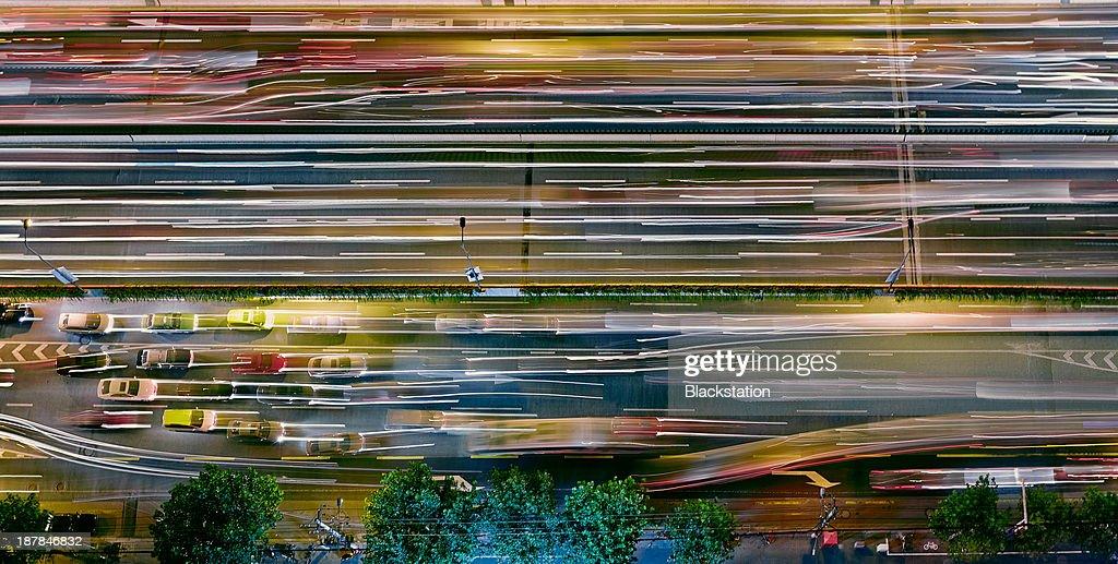 the light waves : Stock Photo