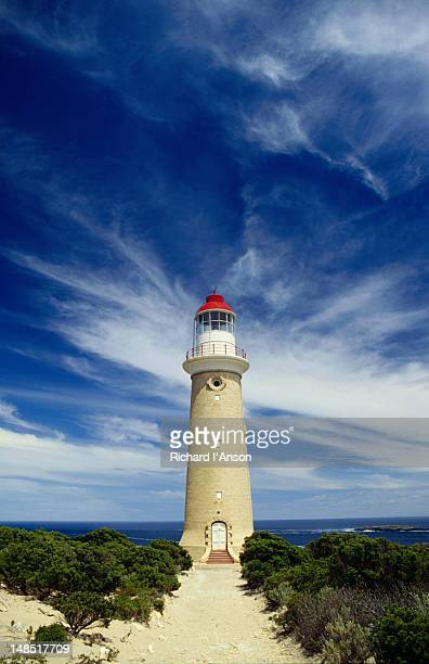 The lighthouse at the remote Cape de Couedic.