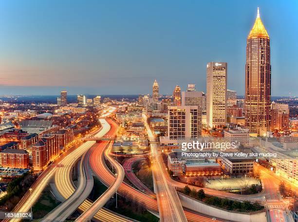 The Lights and Traffic of Atlanta