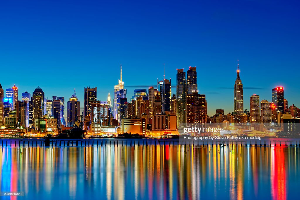 The Lights of New York City