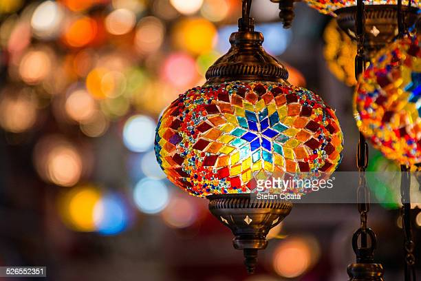 The lights of the Grand Bazaar Istanbul