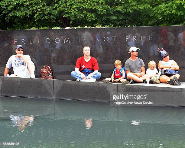 8/28/10 The Lincoln Memorial Washington DC Glen BeckConservative commentator calls for revival of US's honor and values at an event held on the...