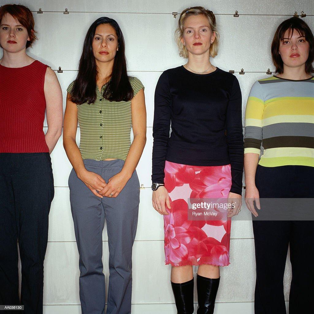 The Line-Up : Stockfoto