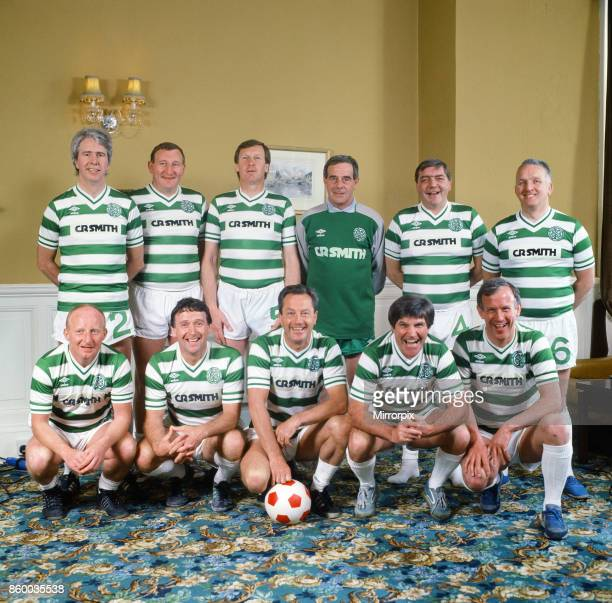 The Lisbon Lions on their 20th Anniversary The Celtic football team who won the European Cup in 1967 Back row left to right Jim Craig Tommy Gemmell...