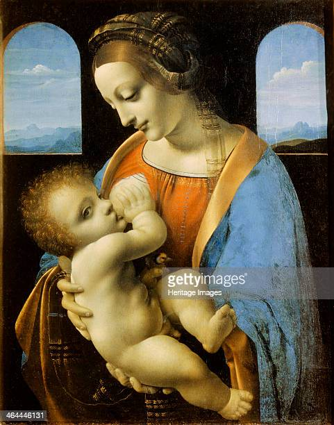 'The Litta Madonna' 1490 Found in the collection of the State Hermitage St Petersburg