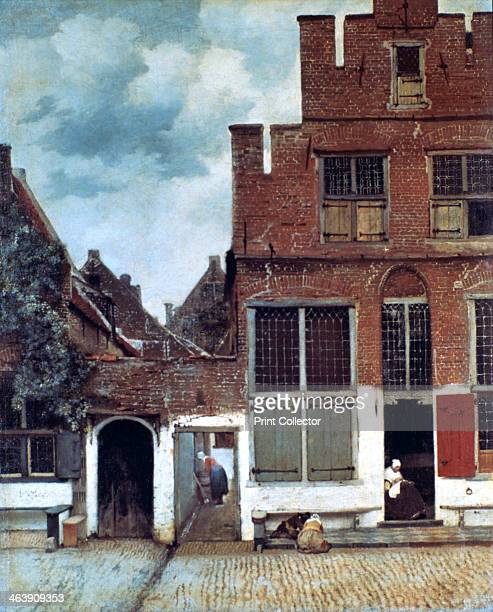 'The Little Street' c1658 From the collection of the Rijksmuseum Amsterdam Netherlands