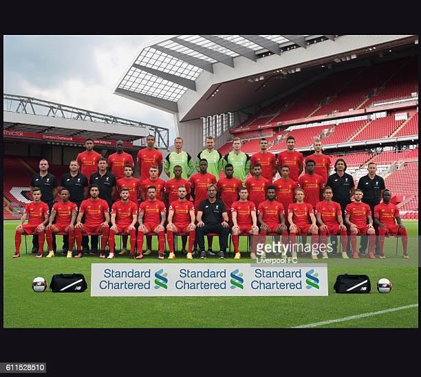 The Liverpool 2016/17 Squad Back Row Joe Gomez Mamadou Sakho Joel Matip Alex Manninger Simon Mignolet Loris Karius Dejan Lovren Marko Grujic Ragnar...