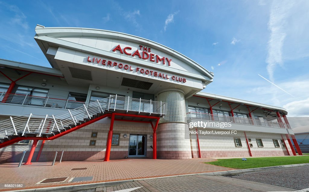 The Liverpool Football Club Academy building in the autumn sunshine during the U18 friendly match between Liverpool and Burnley at The Kirkby Academy on October 6, 2017 in Kirkby, England.