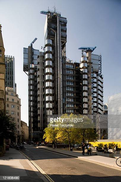 The Lloyds headquaters, designed by Richard Rogers, London, UK