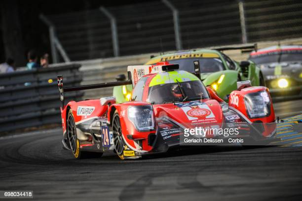 The LMP2 CEFC Manor TRS Team China ORECA 07Gibson with drivers Tor Graves /Jonathan Hirschi /JeanEric Vergne in action during the qualification for...