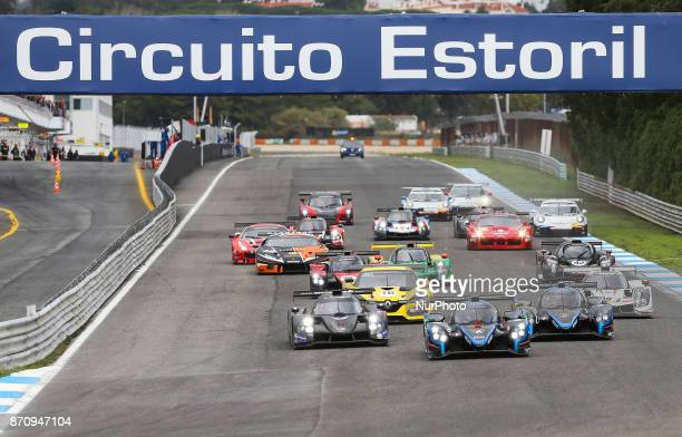 The LMP3 Norma M30 driven by BORGA Antonin and ENQVIST Henning leads the race start during Estoril VdeV Endurance Series 2017 at the Circuit of...