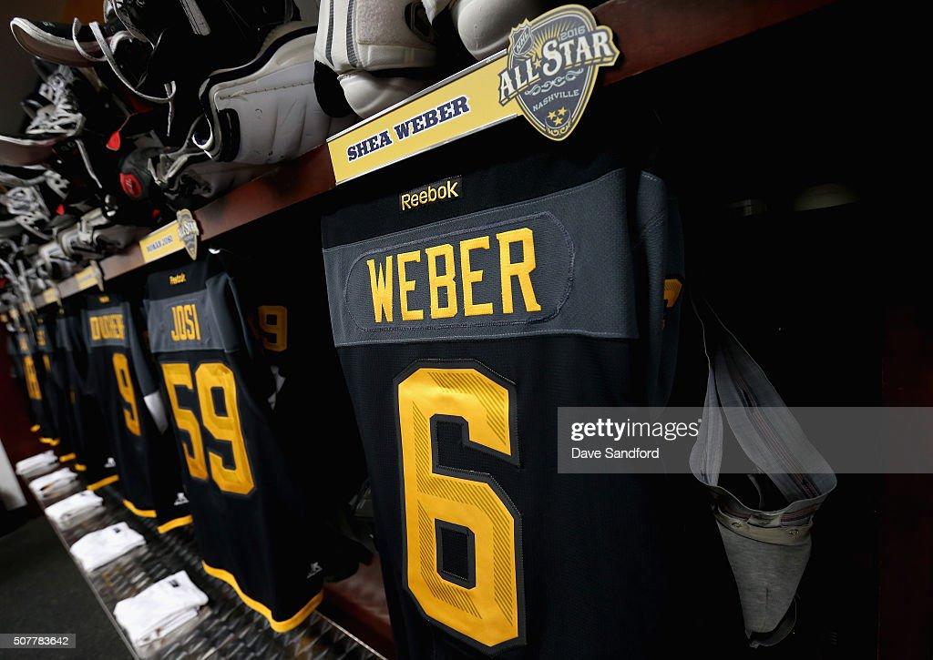 Shea Weber Locker Room